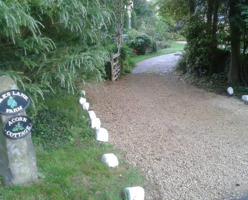 Acorn Cottage Entrance