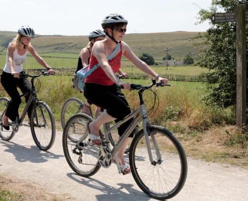 Cycling Tissington Trail